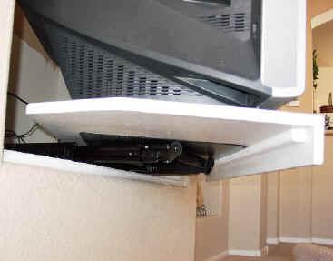 custom tv shelves tv sliding shelf building shelves roll out television shelving